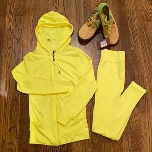 New Mix Other - New Mix Zip Up Hoodie Jacket and Legging Set